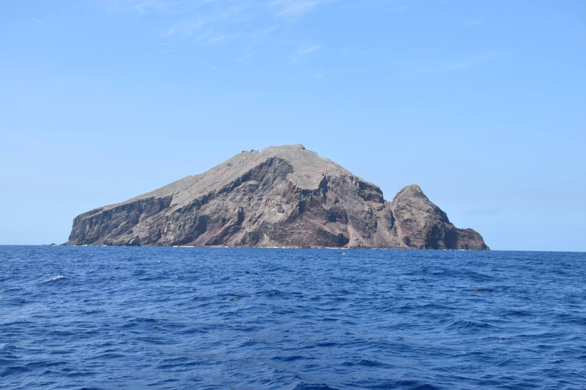 Sailing Past the Kingdom of Redonda